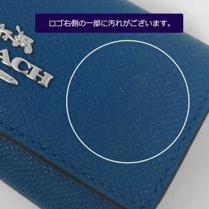 1173f3823148 ... 【わけありB】コーチ COACH キーケース クロス グレイン レザー 6連 リング キー ...