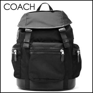 コーチ COACH メンズ トレックナイロンバックパック/リュックサック 55069 BLK(ブラック)