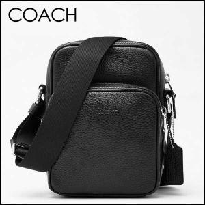 コーチ COACH メンズ チャールズペブルレザーツーリングショルダーバッグ 72363 BLK(ブラック)