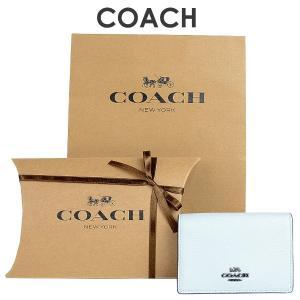 fa8912f51b6c 【紙袋・ラッピング代込み】 コーチ COACH レディース カードケース 名刺入れ 87254 DKSKY(スカイ)