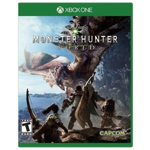 Xbox One Monster Hunter World モンスターハンター ワールド 輸入版 北...