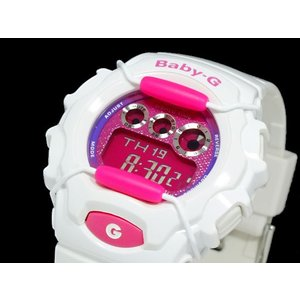カシオ CASIO ベビーG BABY-G 腕時計 BG1006SA-7A レッド x エナメルホワイト importshippers