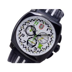 ルミノックス LUMINOX トニーカナーン クオーツ メンズ クロノ 腕時計 1146 ホワイト x ブラック|importshippers