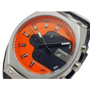 ディーゼル DIESEL クオーツ メンズ クロノ 腕時計 DZ4294 オレンジ x ブラック importshippers
