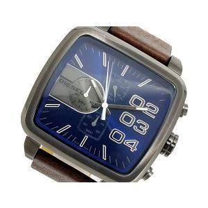 ディーゼル DIESEL クロノグラフ メンズ 腕時計 DZ4302 ネイビー importshippers