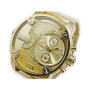 ディーゼル DIESEL デュアルタイム メンズ クロノ 腕時計 DZ7287 ゴールド importshippers