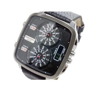 ディーゼル DIESEL トリプルタイム アナデジ 腕時計 DZ7302 importshippers