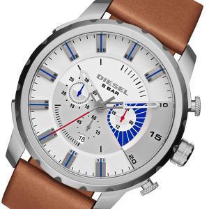 ディーゼル DIESEL ストロングホールド クロノ メンズ 腕時計 DZ4357 ブラウン x グレー importshippers