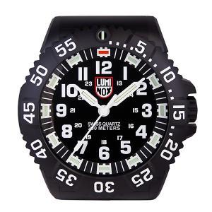 ルミノックス 腕時計風 LED発光 掛け時計 WALL-CLOCK-BIG40 ブラック|importshippers