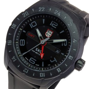 ルミノックス LUMINOX SXC GMT クオーツ メンズ 腕時計 5021-GN ブラック|importshippers