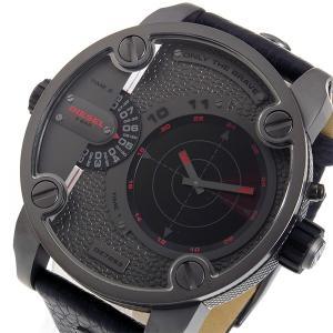 ディーゼル DIESEL リトルダディ クオーツ メンズ 腕時計 DZ7293 グレー x ブラック importshippers
