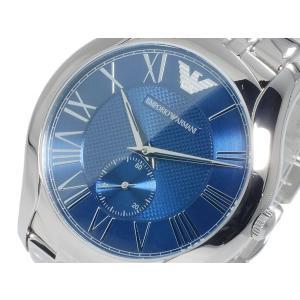 エンポリオ アルマーニ EMPORIO ARMANI CLASSIC COLLECTION クオーツ メンズ 腕時計 AR1789 ネイビー x シルバー