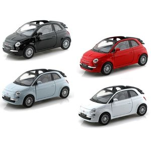 【商品名】Set of 4 - 2010 Fiat 500C 1/32 WE43612-4SET ミ...