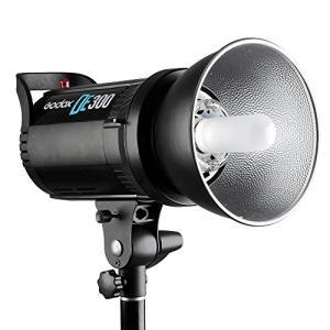 【商品名】Godox DE300 300W プロ用 スタジオストロボ フラッシュランプ GN58 ポ...