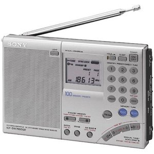 SONY 短波ラジオ ICF-SW7600GR