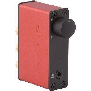 【商品名】NuForce USB デジタルオーディオコンバーター レッド icon-uDAC2/re...
