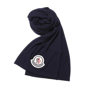 MONCLER a モンクレール エー マフラー NAVY ダークブルー[0010100 07622 778]|importshopdouble