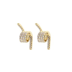 FALLON ファロン ピアス PAVE BARBED WIRE STUD パヴェ バーブド ワイヤー スタッド FE11513A|importshopdouble