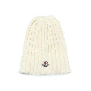 MONCLER モンクレール ニットキャップ WHITE ホワイト[0022000 03510 004]|importshopdouble