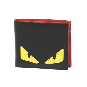 FENDI フェンディ 二つ折り財布 BAG BUGS バッグ バグズ 7M0169 O73 F0U9T|importshopdouble