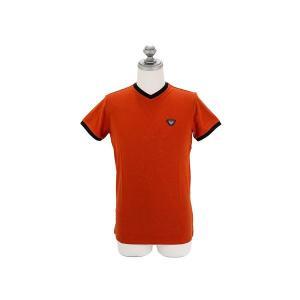 ARMANI JEANS アルマーニジーンズ メンズ半袖Tシャツ C6H08 QK 9G バーミリオ...