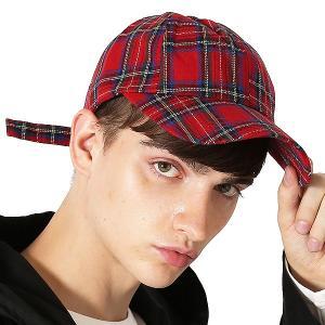 Inspiration improves select キャップ チェック柄 ベースボールキャップ ネルチェック 帽子 フリーサイズ メンズ インプローブス 韓国|improves