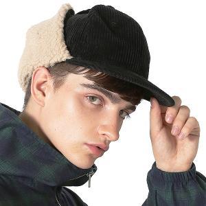 Inspiration improves select ドッグイヤーキャップ ボア コーデュロイ ベースボールキャップ 帽子 フリーサイズ メンズ インプローブス 韓国|improves