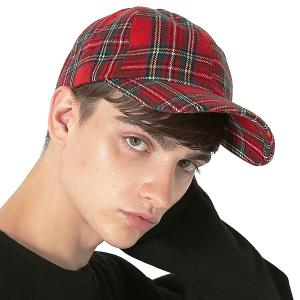 Inspiration improves select キャップ チェック柄 ベースボールキャップ タータンチェック 帽子 フリーサイズ メンズ インプローブス 韓国|improves