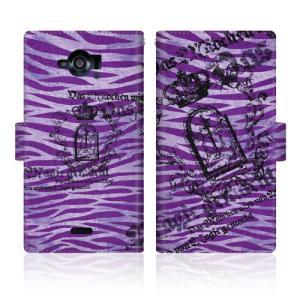 CaseMarketオリジナルのおしゃれなデザインプリントが魅力のオリジナル手帳型ケース。ステッチタ...