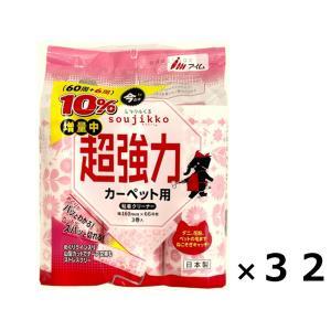 ミラクルくるsoujikko 業務用 アイム 送料無料 スペアテープ カーペット用 超ストロング 60周巻 3本×32袋セット|imx