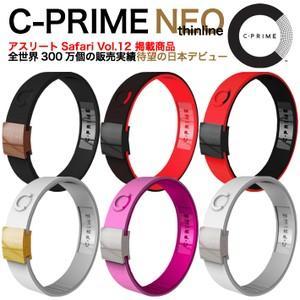 C-PRIME シープライム NEO Thinline パワーバンドスポーツ リストバンド ブレスレ...