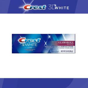 クレスト 3D ホワイト グラマラス ホワイト 歯磨き粉 116g Crest 3D White Luxe Glamorous White Toothpaste ホワイトニング