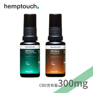 ヘンプタッチ CBDスプレー 1.5%濃度 CBD含有300mg/内容量20ml チョコレート ペパ...