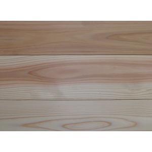 全国配送不可!【アトピー・キラー 森呼吸ハーフ】杉無垢フローリング 無節 無塗装 3640×15×115ミリ|inaba-wood
