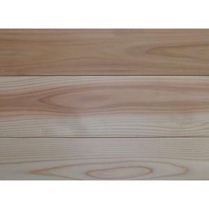 【アトピー・キラー 森呼吸ハーフ】杉無垢フローリング 無節 無塗装 1820×15×115ミリ|inaba-wood
