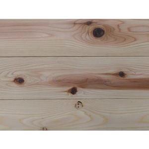 【アトピー・キラー 森呼吸ハーフ】杉無垢フローリング 節あり 無塗装 2950×15×115ミリ|inaba-wood