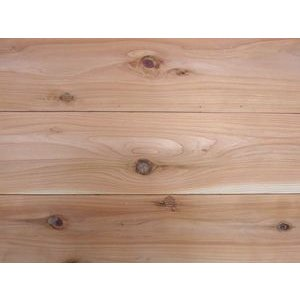 【アトピー・キラー 森呼吸】杉無垢フローリング 節あり 無塗装 1820×30×150ミリ|inaba-wood