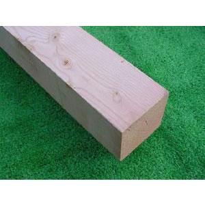 米松(ベイマツ)無垢角材 3000×105×105ミリ|inaba-wood