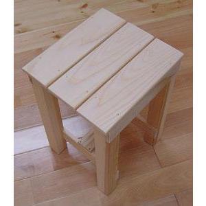 天然無垢健康いす(大) 組み立てキット|inaba-wood