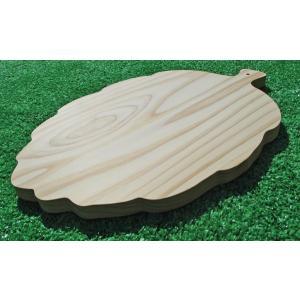 すぎウッドプレート(木の葉のかたち)|inaba-wood