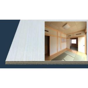 【法人様のみ配送/個人様宅・現場への配送不可】ジャストパネル(ポプラ化粧合板) 1820×5.5×910ミリ|inaba-wood