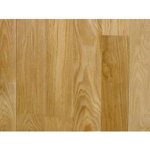 ホワイトオーク(なら)床暖房対応無垢フローリング クリアー塗装 75ミリ巾|inaba-wood