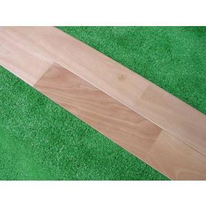 さくら床暖房対応無垢フローリング クリアー塗装 75ミリ巾|inaba-wood