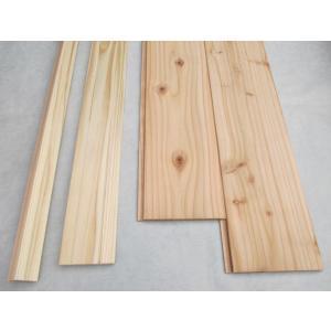 NEW!杉らくらく腰壁作成セット【Aタイプ】節ありグレード|inaba-wood