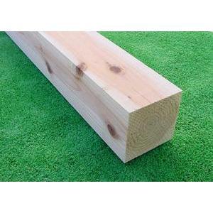 【全国配送不可】すぎ無垢角材 4000×90×90ミリ 未乾燥材|inaba-wood