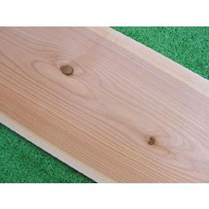 吉野杉無垢板 節あり 無塗装 1900×7×240ミリ inaba-wood