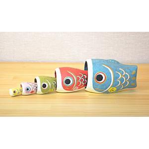 五月人形  鯉のぼり 室内  はりこーシカ こいのぼり 端午の節句 お祝い コンパクト  マトリョー...