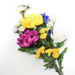 ■こちらの商品は「1本」での販売です。  使いやすい造花の仏花です。 造花なのでお手入れが不要なのが...