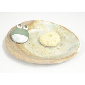 香立 福カエル かえる お香立て ルームインセンス 部屋焚き香 香皿|inababutudanten