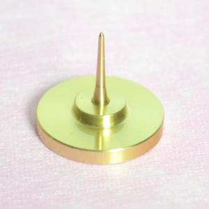 ろうそく立 燭台 真鍮 火立て ローソク 蝋燭 絵ろうそく 和蝋燭 仏壇 仏具|inababutudanten